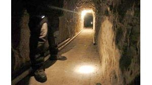 Customs shutters U.S.-Mexico drug tunnel