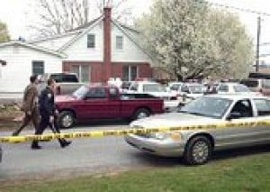 Suspect arrested in gruesome PA. murders