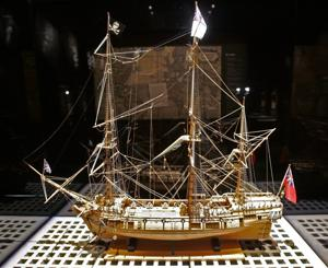 'Real Pirates' exhibit showcases recovered artifacts