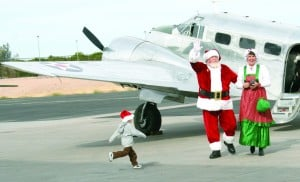 Santa fly-in