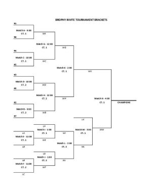 Brophy Invitational Bracket (PDF)