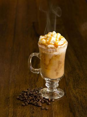 Salted Caramel Moroccan Coffee