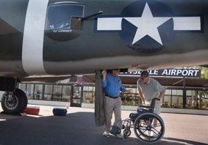 Scottsdale Airport hosts interactive fighter plane display