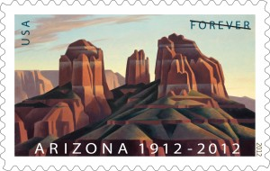 Cathedral Rock stamp