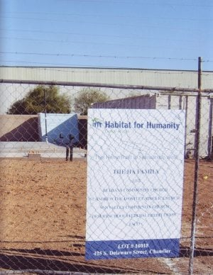 Gilbert church hopes donations help fund Habitat home