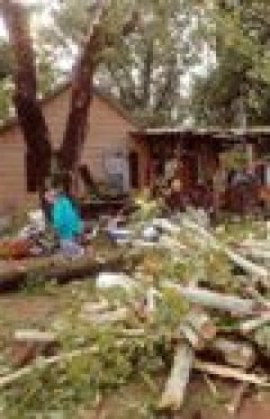 Severe weather kills one in Arkansas
