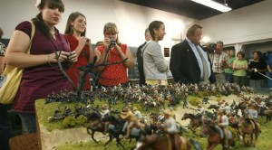 Teens triumph with Civil War diorama