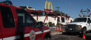 Blaze destroys McDonald's in Apache Junction