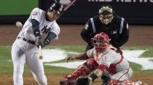 Homers, Burnett give Yankees win in Game 2