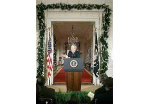 Bush says NSA surveillance necessary, legal