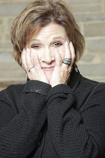 Carrie Fisher opens up her life onstage