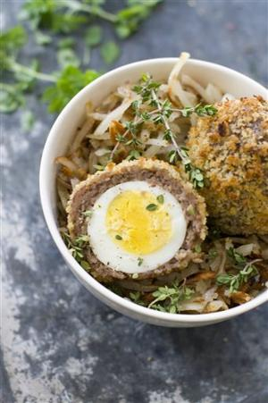 Food Scotch Eggs