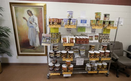Mormon Food Storage