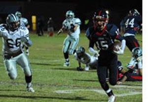 Centennial earns beth in football final against main rival