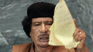 Gadhafi's rambling speech stuns U.N.