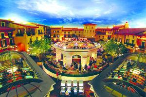 <p>The interior courtyard at Casino del Sol Resort in Tucson.</p>