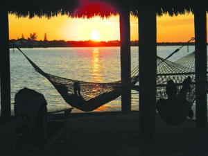<p>Sun down on the bay side of Key Largo. [Steve Bergsman/Special to Tribune]</p>