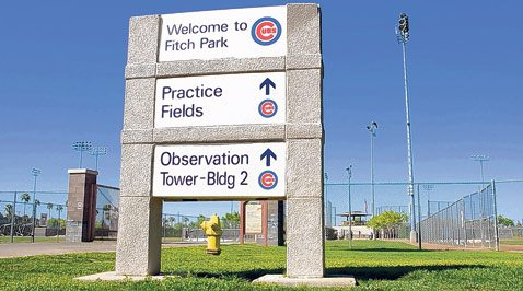 Mesa upgrading Cubs' spring field