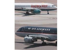 America West, US Airways agree to merge
