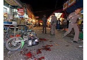 Bombings stun Bangkok on New Year's Eve