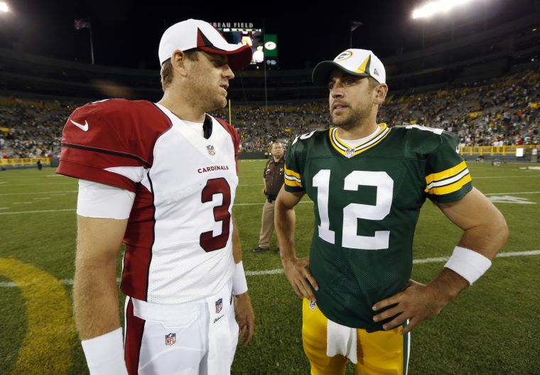Carson Palmer, Aaron Rodgers