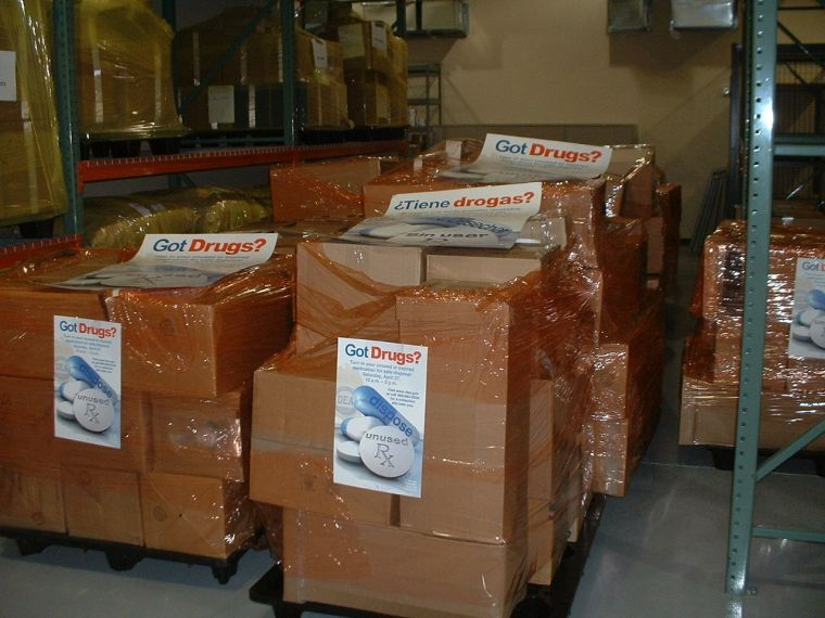 Take-Back day collects unwanted medications