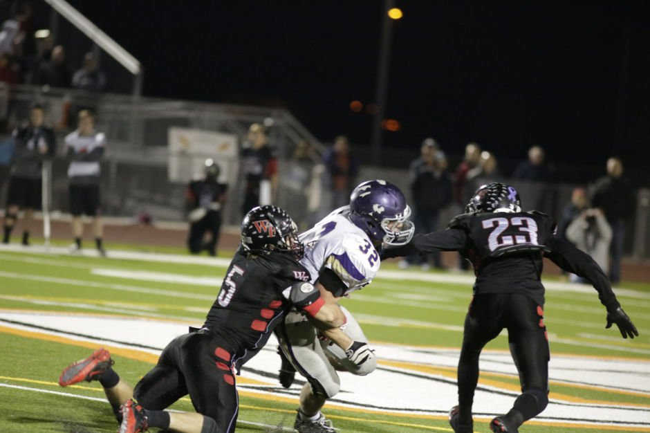 Queen Creek vs Williams Field, semifinal game 11/25/2013