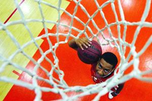 Tribune Boys Basketball Player of Year:  Calaen Robinson