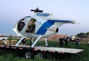 Mesa PD helicopter emergency landing
