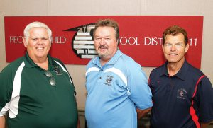 Clapp, Fetkenhier, Taylor in third decade of coaching, winning, molding young men