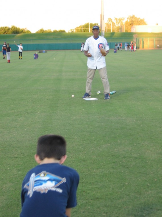 Chicago Cubs baseball clinic
