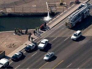Body pulled from Mesa canal
