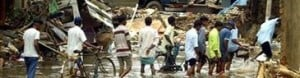 Quake, tsunami death toll passes 22,500 