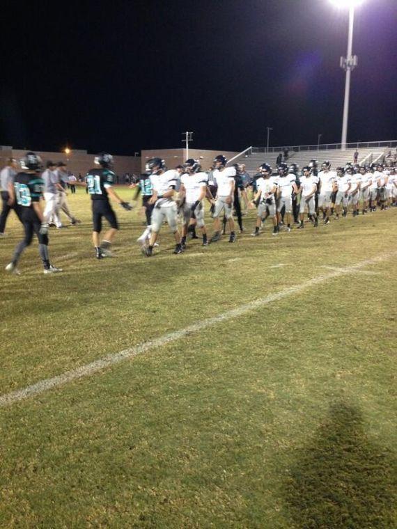 Highland vs. Perry football