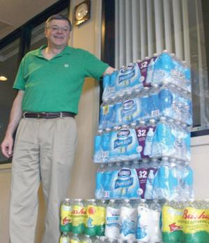 Water collections for the homeless