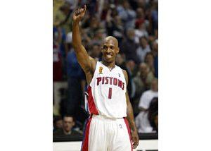 Pistons rip Lakers 100-87, win NBA title