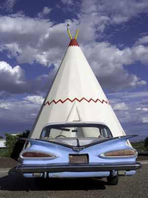 Wigwam Motel on Route 66, Holbrook, Arizona