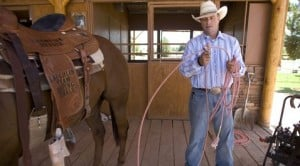 Bovine heart valve keeps Q.C. cowboy up