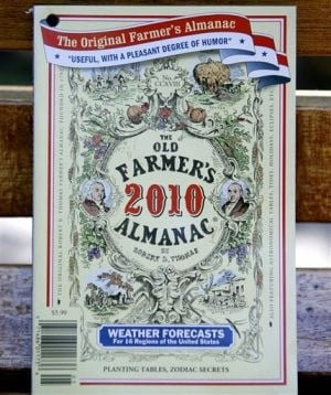 'Old Farmer's Almanac' spots cold in Web age