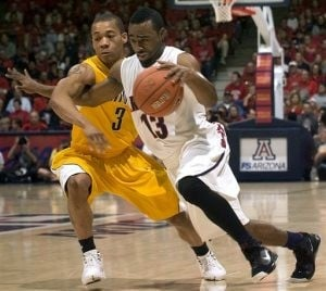 Wise leads Arizona to 76-72 victory over Cal