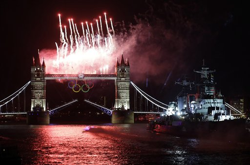 London Olympics Opening Ceremony
