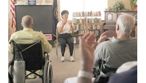 T'ai chi chih instructor from Ahwatukee works with veterans