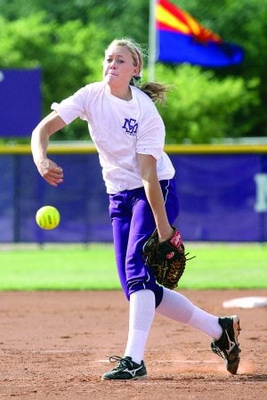 PERFECT BALANCE: Trio of Division 1 seniors leads most complete Sunrise Mountain softball team yet