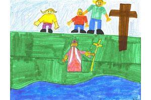 Mesa students honor Pope John Paul II