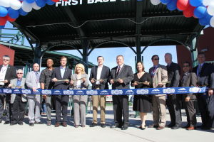 Cubs Park Ribbon Cutting