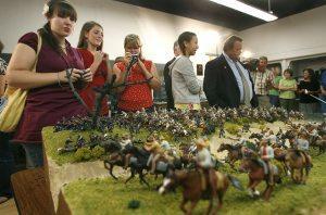 Teens triumph with Civil War diorama