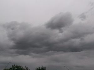"<p class=""caption"">Cloudy weather in Phoenix, April 18, 2014.</p>"
