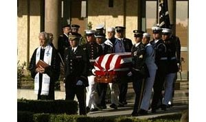 Week of public mourning for Reagan ends