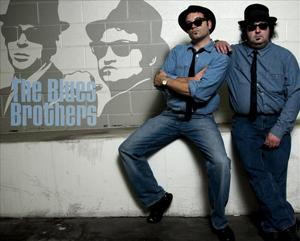 Dan and Dave as The Blues Brothers