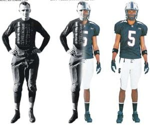 Prep football players: function or fashion?